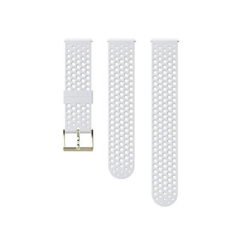 SUUNTO 20mm Athletic 1 White Gold Silicon Strap SS050179000