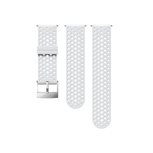 SUUNTO 24mm Athletic 1 White Steel Silicon Strap SS050224000