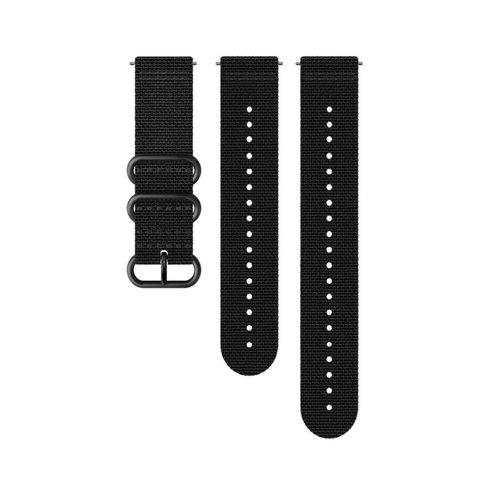 SUUNTO 24mm Explore 2 Black Black Textile Strap SS050228000