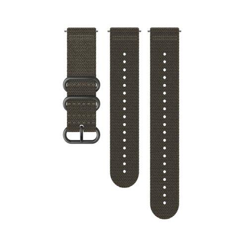 SUUNTO 24mm Explore 2 Foliage Gray Textile Strap SS050229000