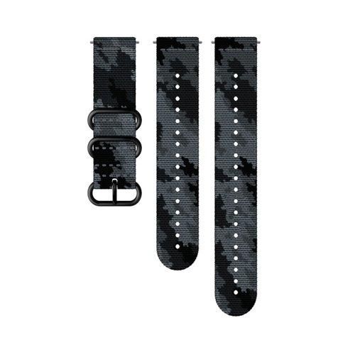 SUUNTO 24mm Explore 2 Concrete Black Textile Strap SS050230000