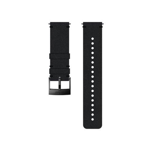 SUUNTO 24mm Urban 2 Black Black Leather Strap SS050231000