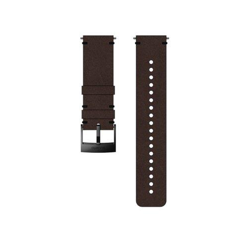 SUUNTO 24mm Urban 2 Brown Black Leather Strap SS050232000