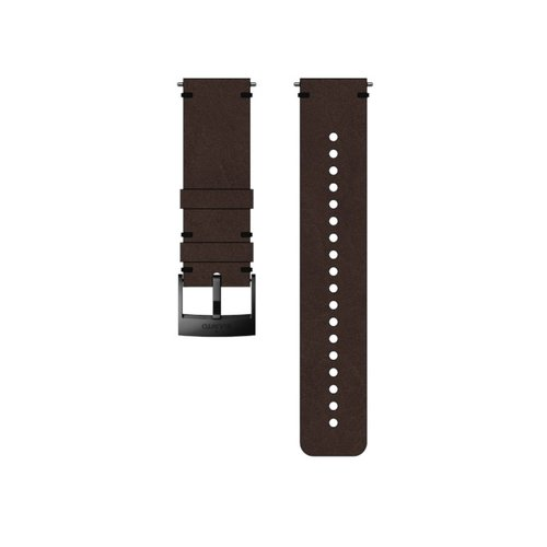 SUUNTO 24mm Urban 2 Brown Black Leather Strap SS050232000