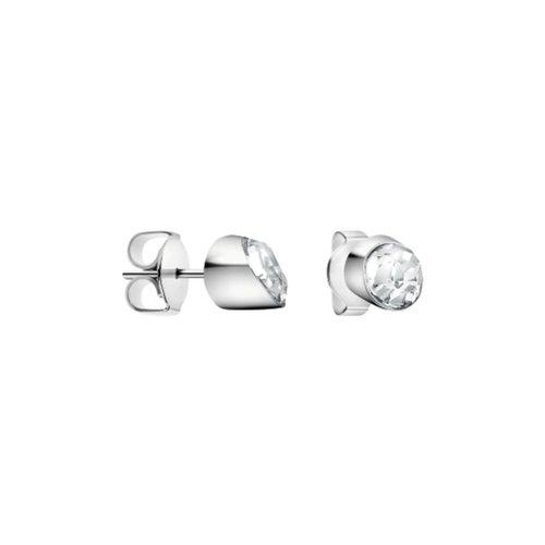 CALVIN KLEIN Brilliant Stainless Steel Earrings KJ8YME040500