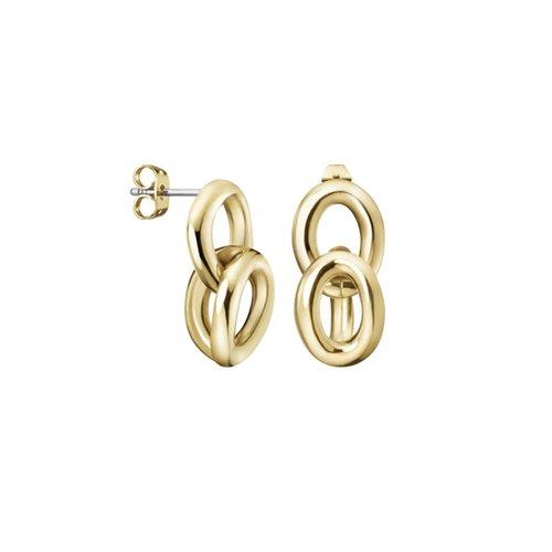CALVIN KLEIN Statement Stainless Steel Earrings KJALJE100200