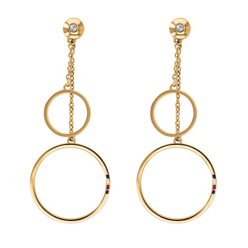 TOMMY HILFIGER Gold Stainless Steel Earrings 2780145