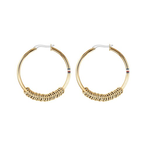 TOMMY HILFIGER Gold Stainless Steel Earrings 2780215