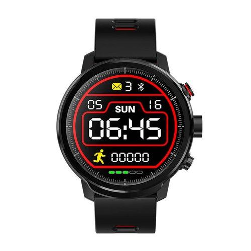 DAS-4 SG04 Black Red Smartwatch 70013