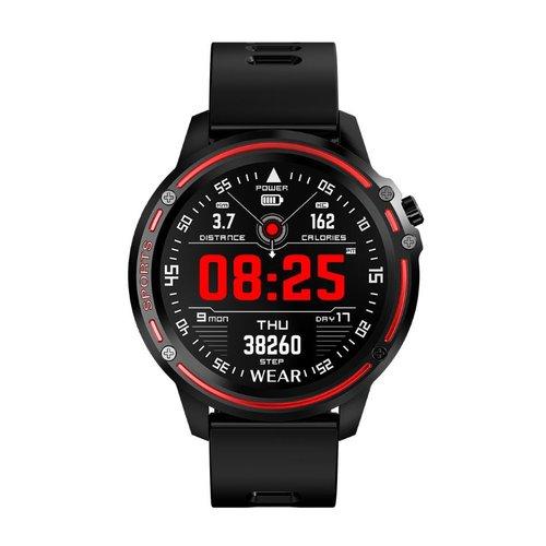 DAS-4 SG14 Black Red Smartwatch 70043