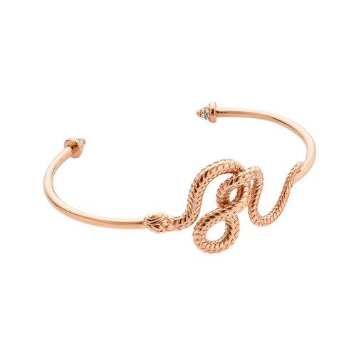 JUST CAVALLI Animal Rose Gold Stainless Steel Bracelet JCBA00630300