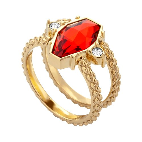 JUST CAVALLI Rock Gold Stainless Steel Ring JCRG00640208