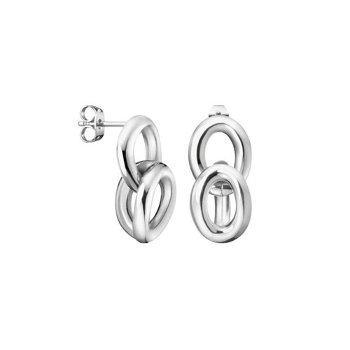 CALVIN KLEIN Statement Stainless Steel Earrings KJALME000100