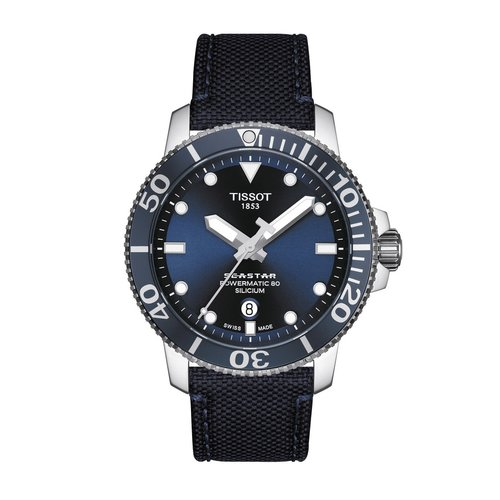 TISSOT Seastar 1000 Powermatic 80 Silicium T1204071704101