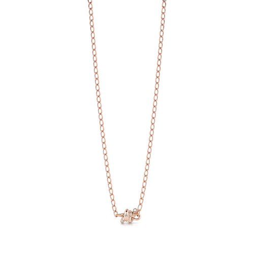 GUESS Steel Rose Gold Necklace UBN29023
