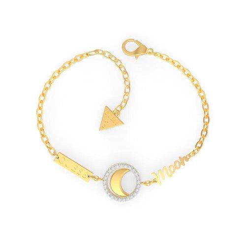 GUESS Steel Gold Bracelet UBS29001-S