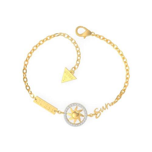 GUESS Steel Gold Bracelet UBS29037-S