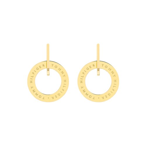 TOMMY HILFIGER Gold Stainless Steel Earrings 2780318