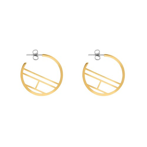 TOMMY HILFIGER Gold Stainless Steel Earrings 2780329