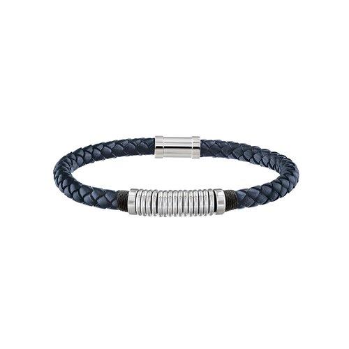 TOMMY HILFIGER Leather Stainless Steel Bracelet 2790155