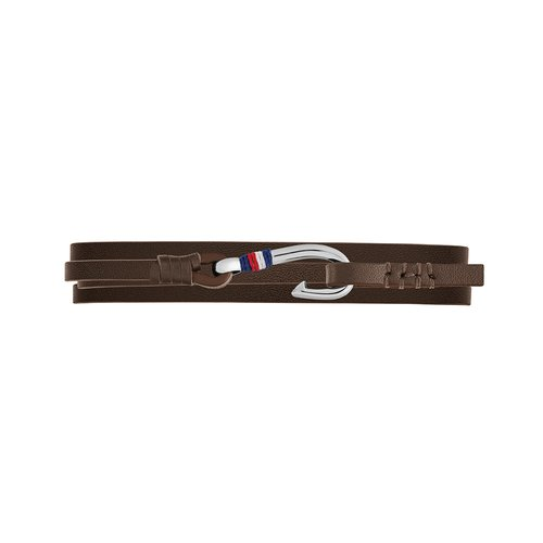 TOMMY HILFIGER Leather Stainless Steel Bracelet 2790191S