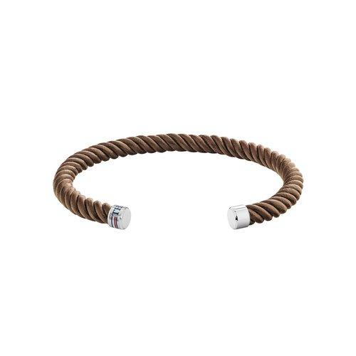 TOMMY HILFIGER Leather Stainless Steel Bracelet 2790194