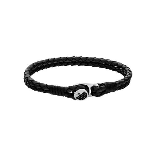 TOMMY HILFIGER Leather Stainless Steel Bracelet 2790197S