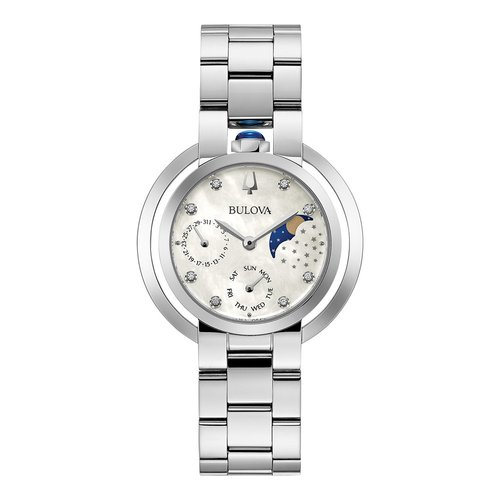 BULOVA Diamond Rubaiyat Moonphase 96P213