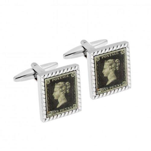 SENZA Silver Brass Cufflinks SSD3951
