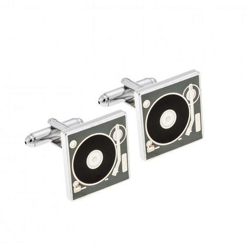 SENZA Silver Brass Cufflinks SSD3995