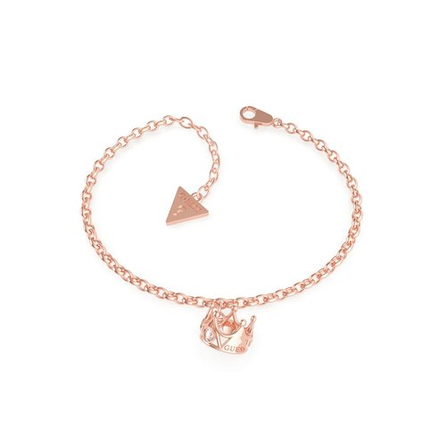 GUESS Steel Rose Gold Bracelet UBB79014-S