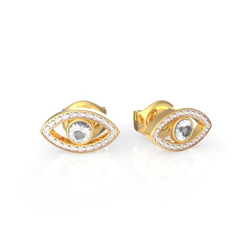 GUESS Steel Gold Earrings UBE29001