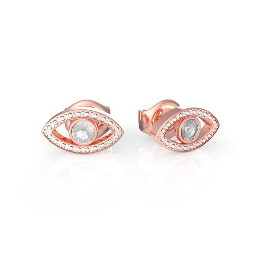 GUESS Steel Rose Gold Earrings UBE29002