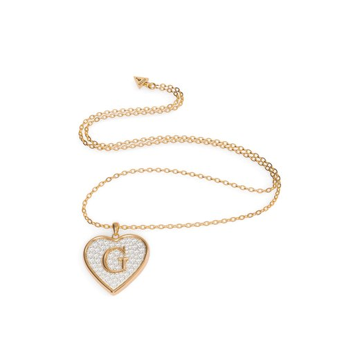 GUESS Steel Gold Necklace UBN79039