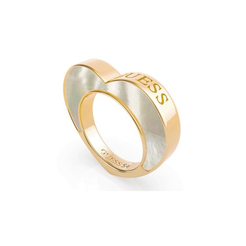 GUESS Steel Gold Ring UBR79016