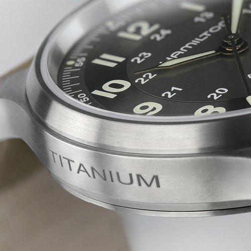 HAMILTON Khaki Field Titanium Automatic H70545550