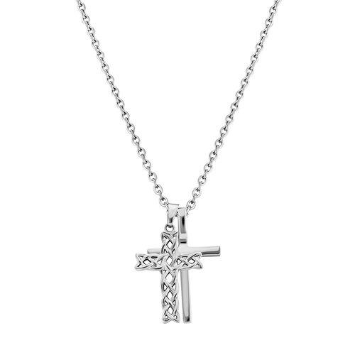 POLICE Struve Stainless Steel Necklace 70cm 26571PSS-01