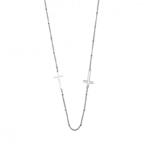 SENZA Steel Necklace SSD4159SR