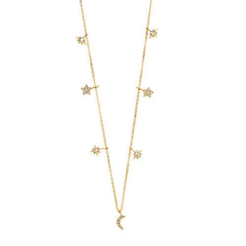 SENZA Silver 925 Necklace SSR2352GD