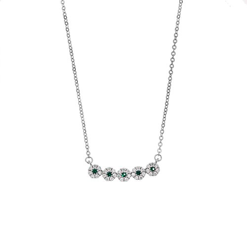 SENZA Silver 925 Necklace SSR2399GN
