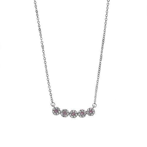 SENZA Silver 925 Necklace SSR2399PK