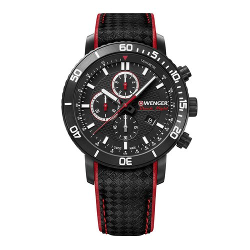WENGER Roadster Black Knight Chronograph 01.1843.109