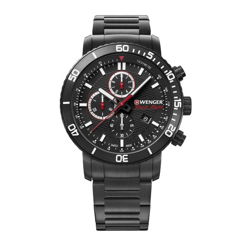 WENGER Roadster Black Knight Chronograph 01.1843.110