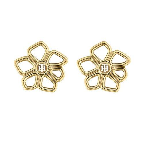 TOMMY HILFIGER Gold Stainless Steel Earrings 2780373