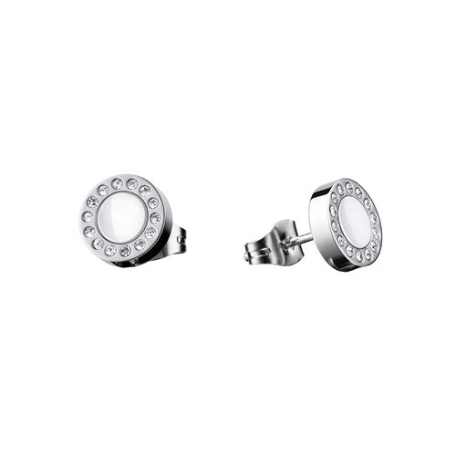 BERING Arctic Symphony Stainless Steel Earrings 707-150-05