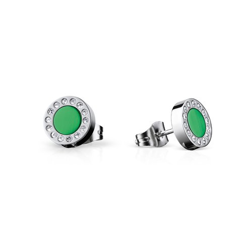 BERING Arctic Symphony Stainless Steel Earrings 707-155-05