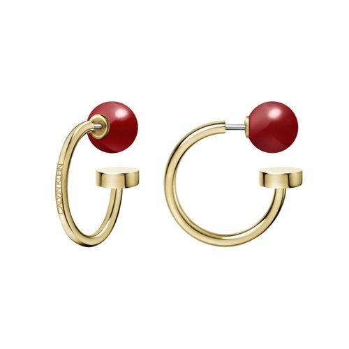 CALVIN KLEIN Bubbly Stainless Steel Earrings KJ9RJE140200