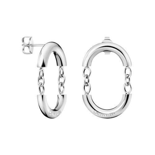 CALVIN KLEIN Dangle Stainless Steel Earrings KJ9ZME000100