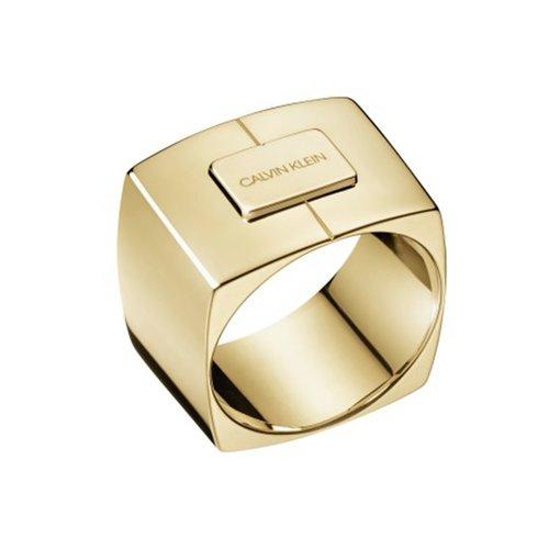 CALVIN KLEIN Assertive Stainless Steel Ring KJAHJR1001