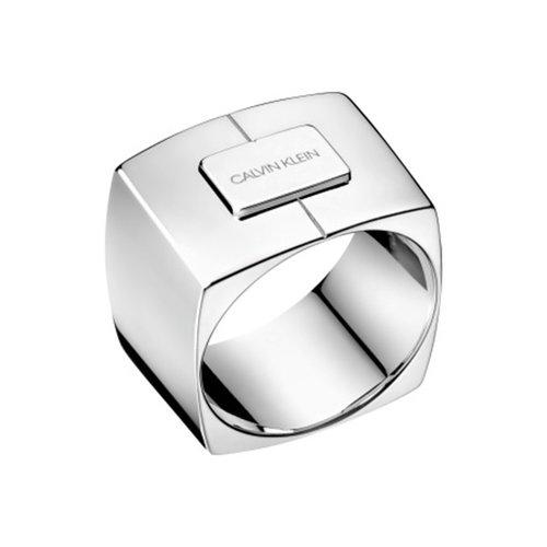 CALVIN KLEIN Assertive Stainless Steel Ring KJAHMR0001